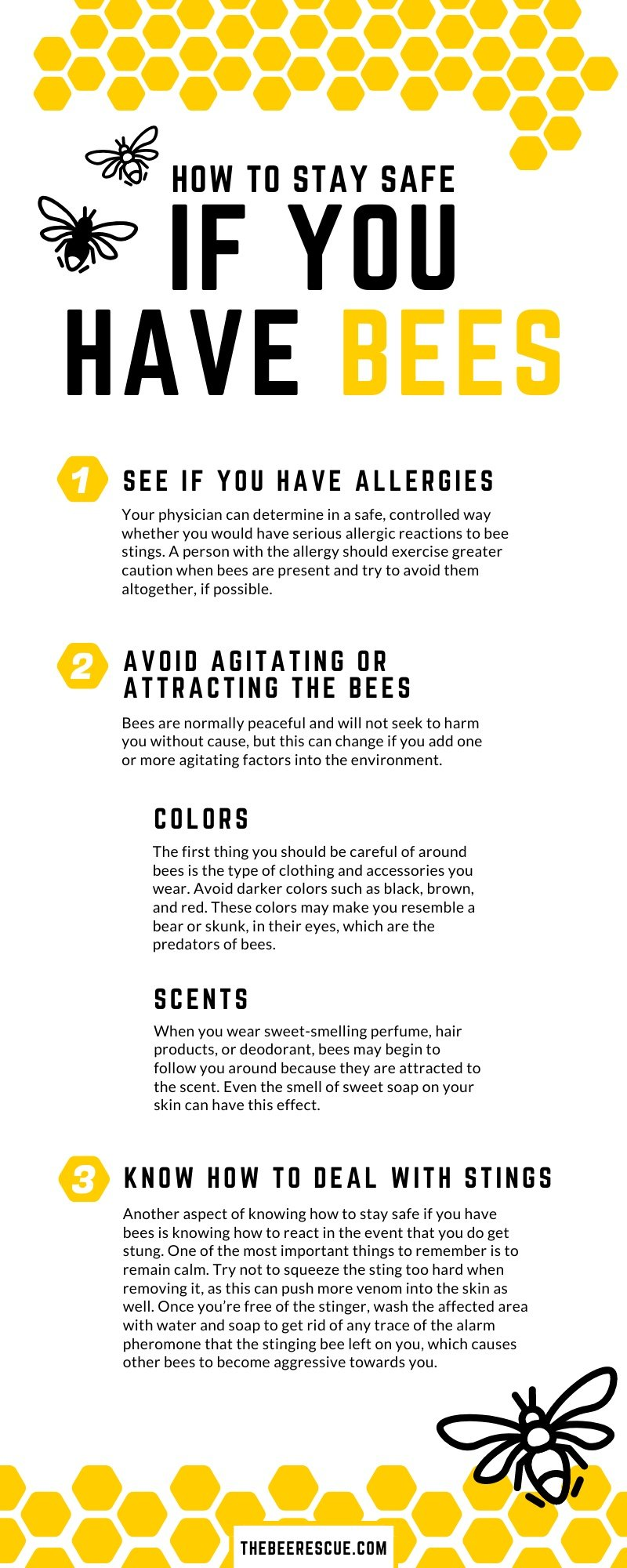 How to Stay Safe If You Have Bees